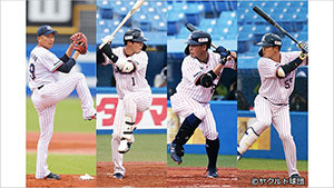 SWALLOWS BASEBALL L!VE 2020